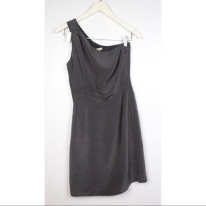 J.Crew Nanine Silk One Shoulder Dress